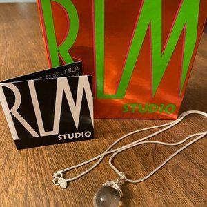 RLM Studio .925 Sterling Crystal Quartz Pendant